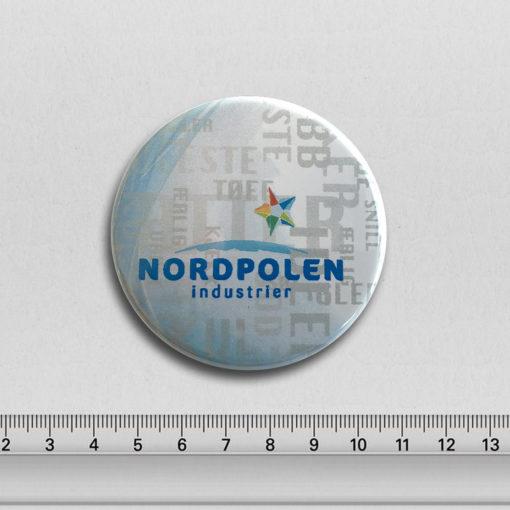 Norsk produsent av buttons - 63mm